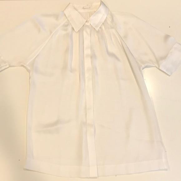 Club Monaco Tops - Club Monaco Silk Button Up Blouse (Size S)